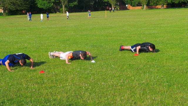 Village FC Pre-Season Training Pic